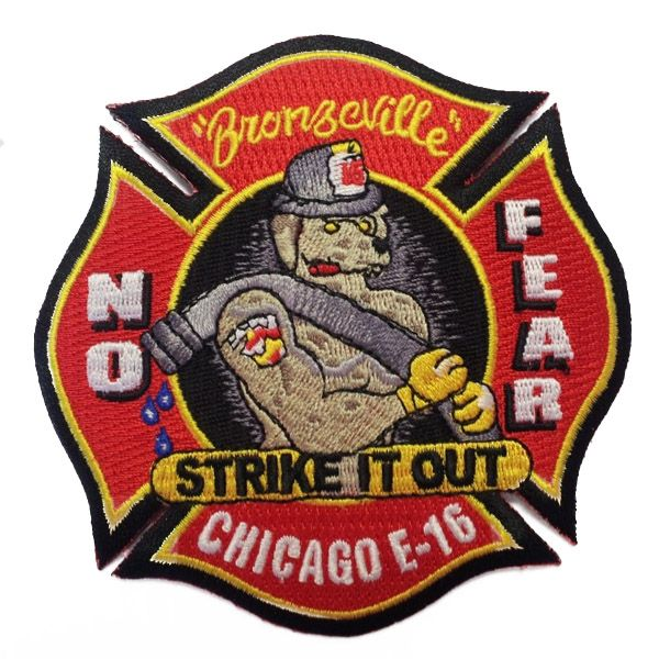 Chicago Fire Dept. - Engine 16 Patch / Aufnäher