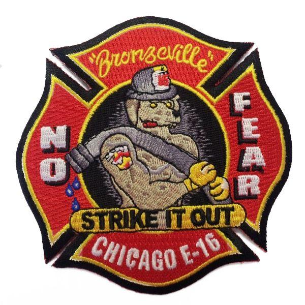 Chicago Fire Dept. - Engine 16 Patch / Aufnäher