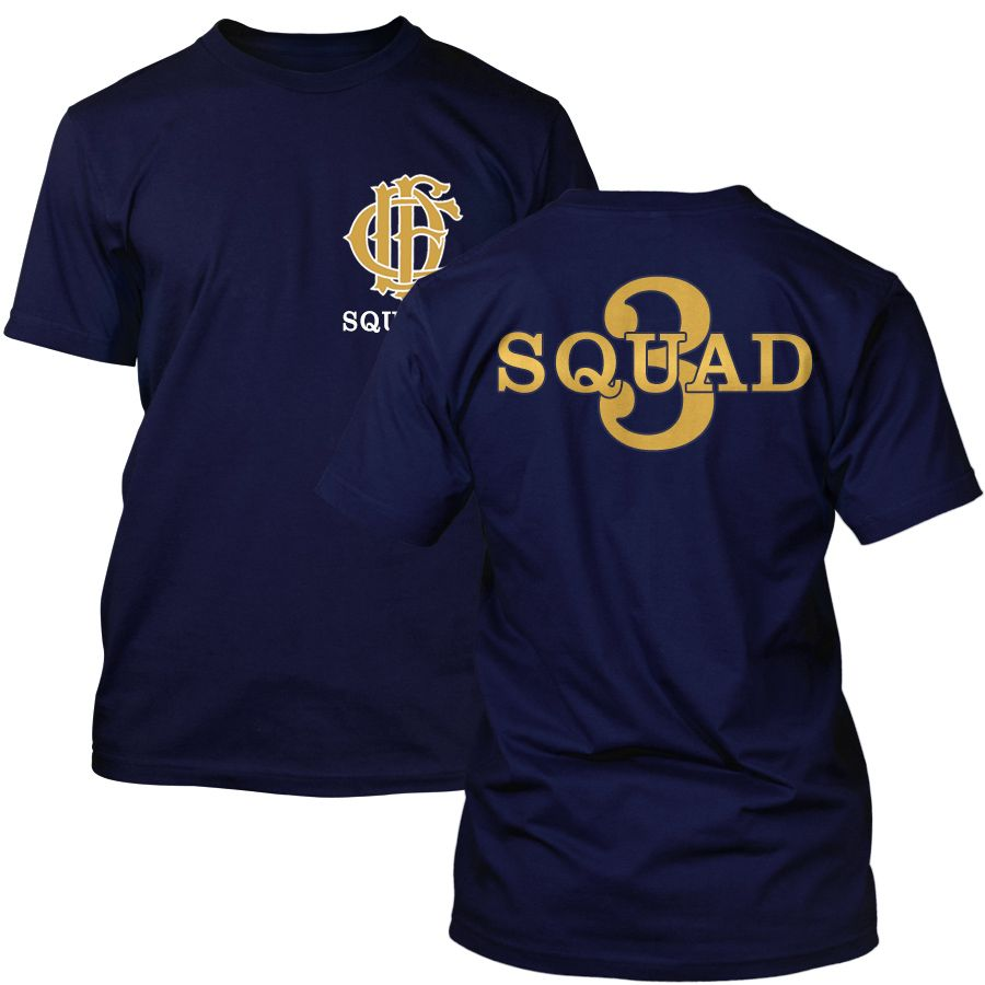 Chicago Fire Dept. - Squad 3 T-Shirt (Gold Edition)