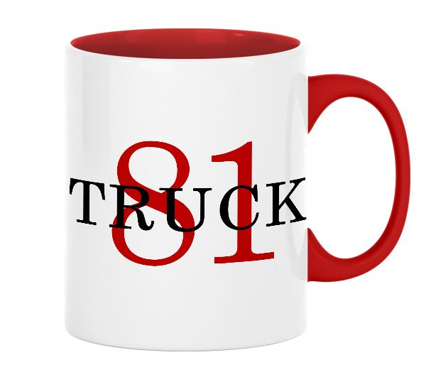 Chicago Fire Dept. - Truck 81 Tasse aus Keramik