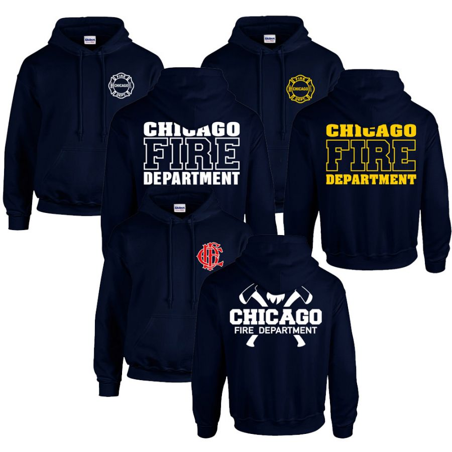 Chicago Fire Dept. - Pullover Spar Set