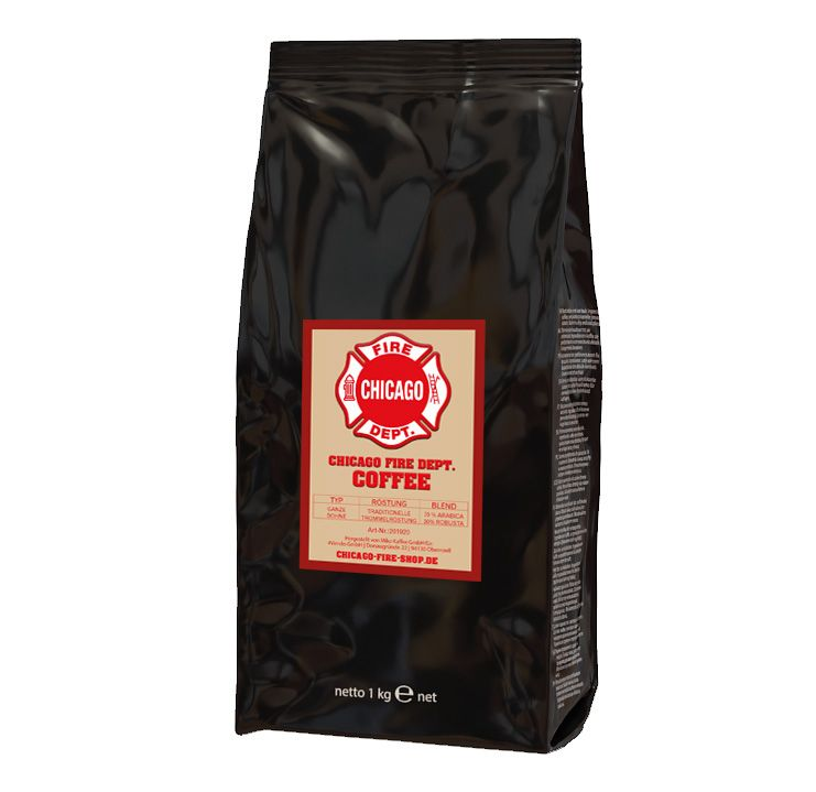 Chicago Fire Department - Kaffee - Bohne - 1kg
