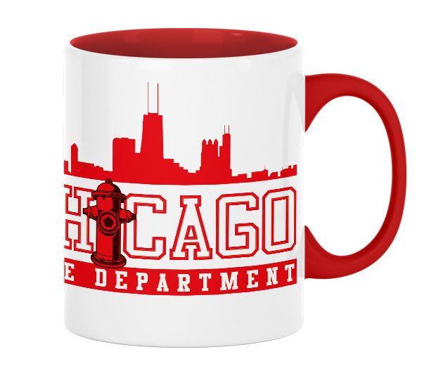 Chicago Fire Dept. - Skyline - Tasse aus Keramik