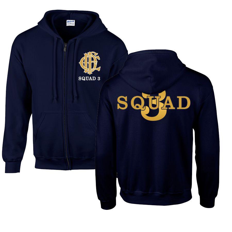 Chicago Fire Dept. - Squad 3 Sweatjacke (Gold Edition)