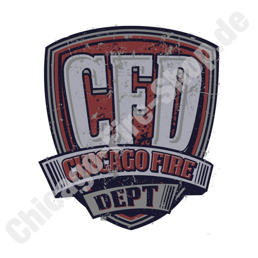Chicago Fire Dept. - Aufkleber
