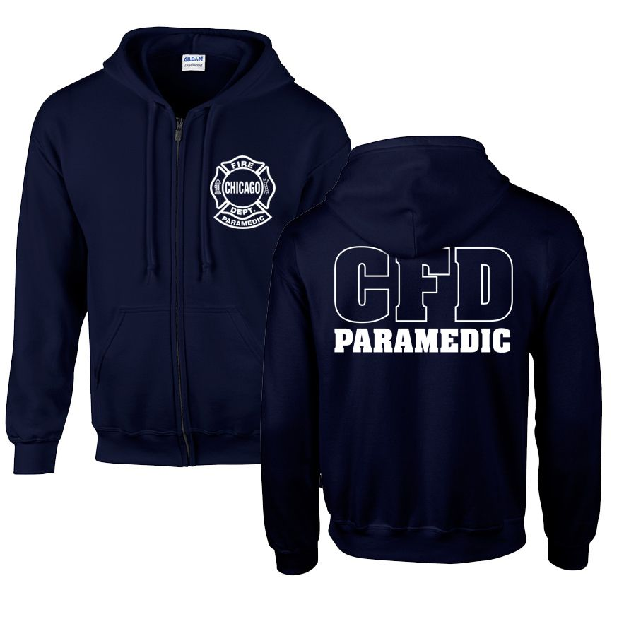 Chicago Fire Dept. Paramedic - Sweatjacke