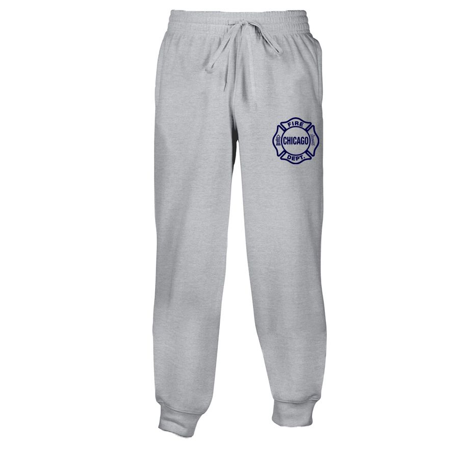 Chicago Fire Dept. - Herren Sweatpants in grau