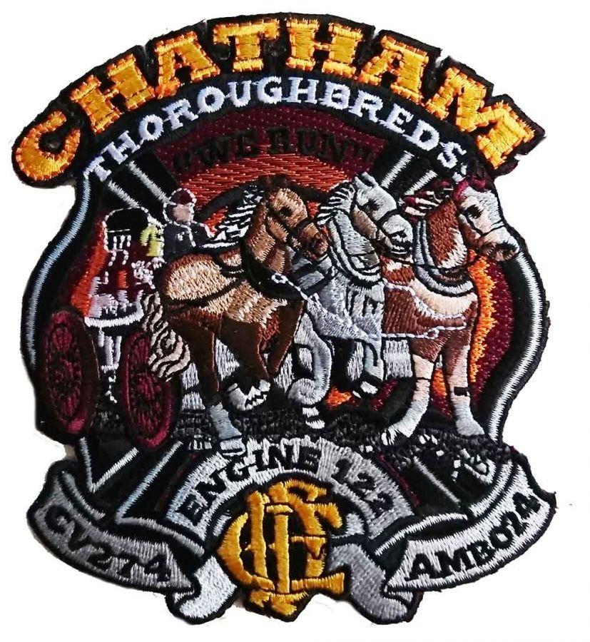 Chicago Fire Dept. - Chatham / Engine 122 - Patch / Aufnäher