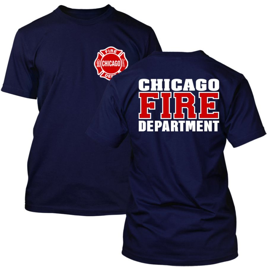 Chicago Fire Dept. - T-Shirt (Rot/Weiß Edition)