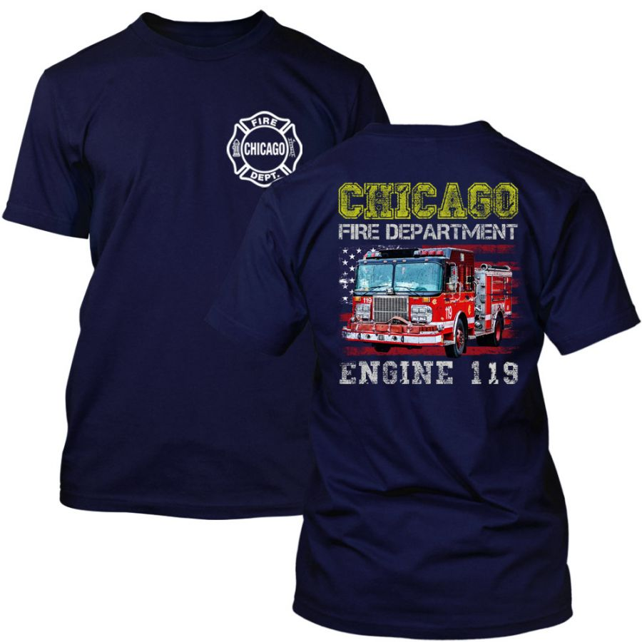 Chicago Fire Dept. - Engine 119 T-Shirt for Kids