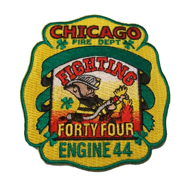 Chicago Fire Dept. - Engine 44 Patch / Aufnäher