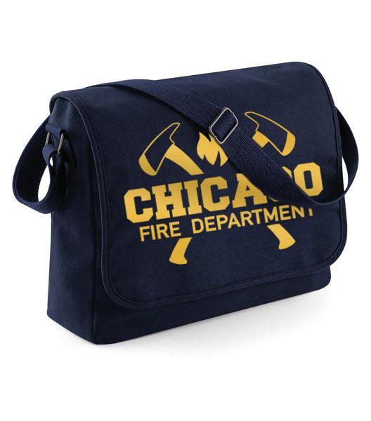 Chicago Fire Dept. - Messenger Tasche (Gold Edition)