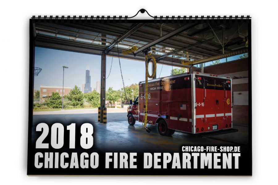 Chicago Fire Department - Kalender 2018