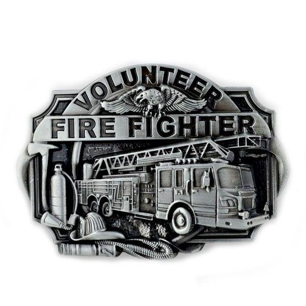 Firefighter Gürtelschnalle aus Metall