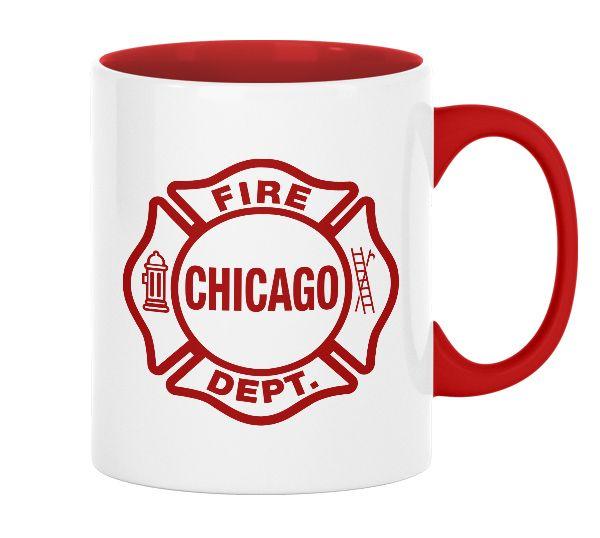 Chicago Fire Dept. Tasse (330ml)