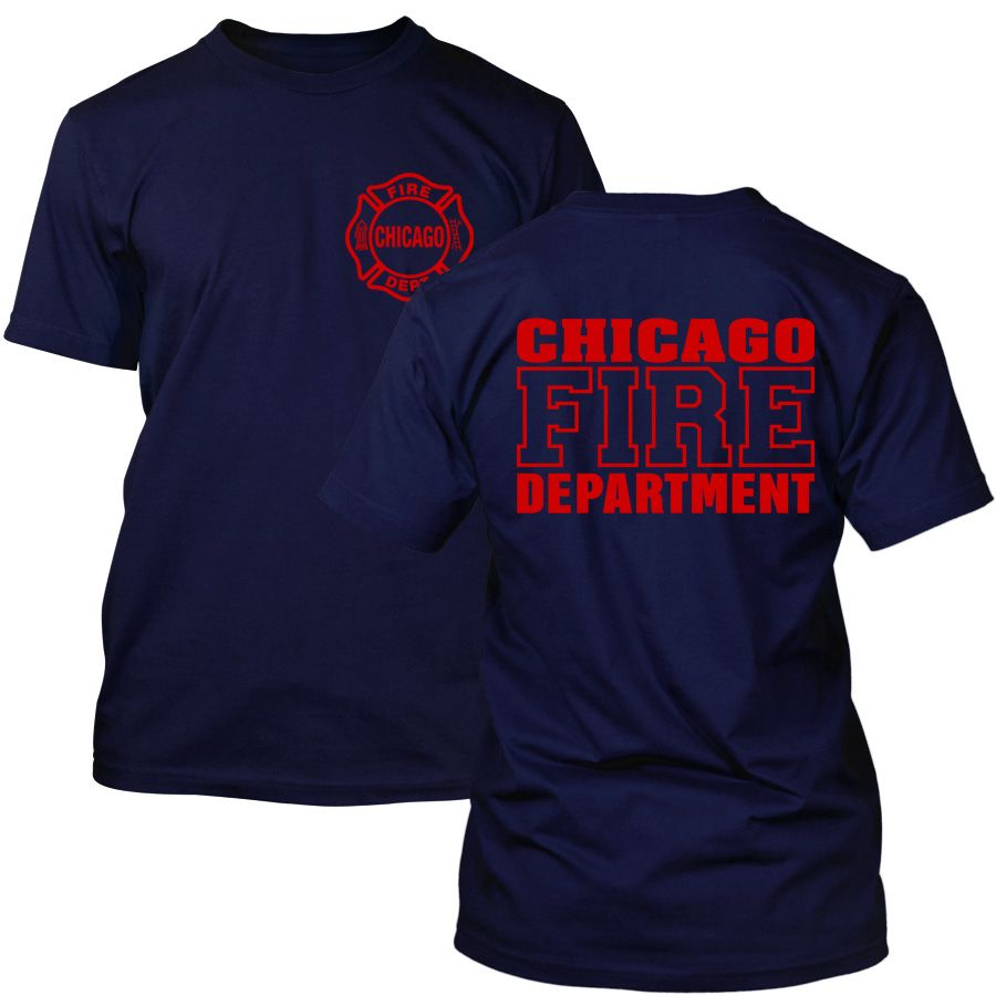 Chicago Fire Dept. - T-Shirt (Red Edition)