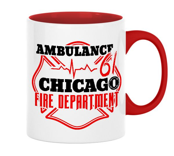 Chicago Fire Dept. - Ambulance 61 - Tasse aus Keramik