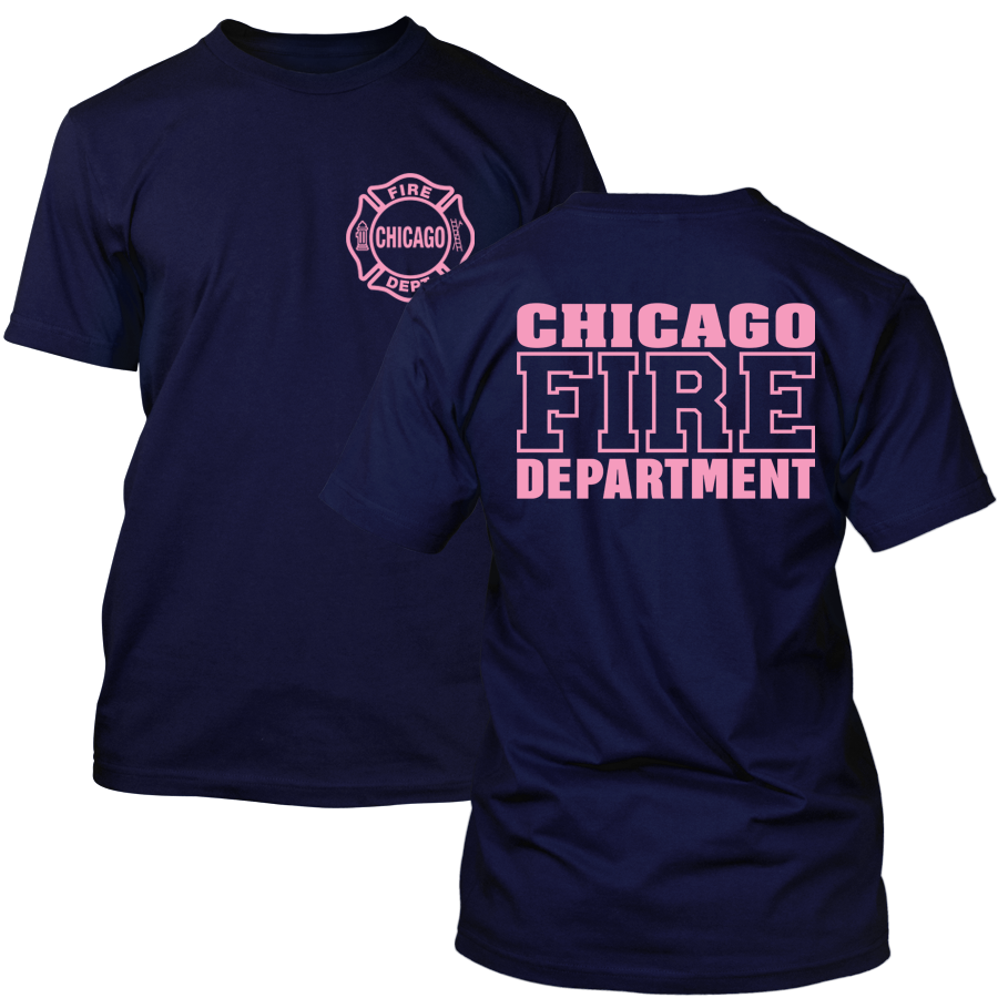 Chicago Fire Dept. - T-Shirt (Pink Edition)