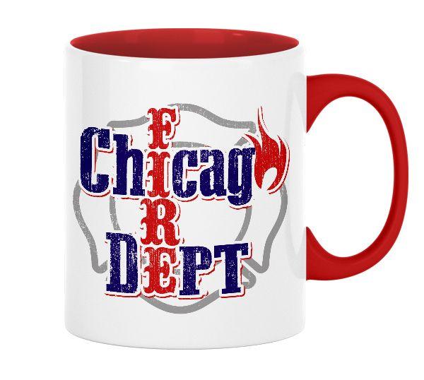Chicago Fire Dept. - Tasse aus Keramik