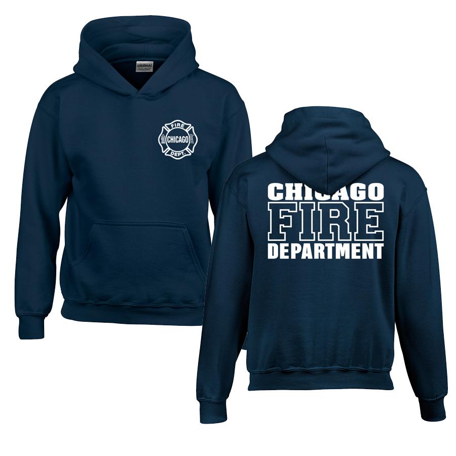 Chicago Fire Dept. - Pullover mit Kapuze für Kinder