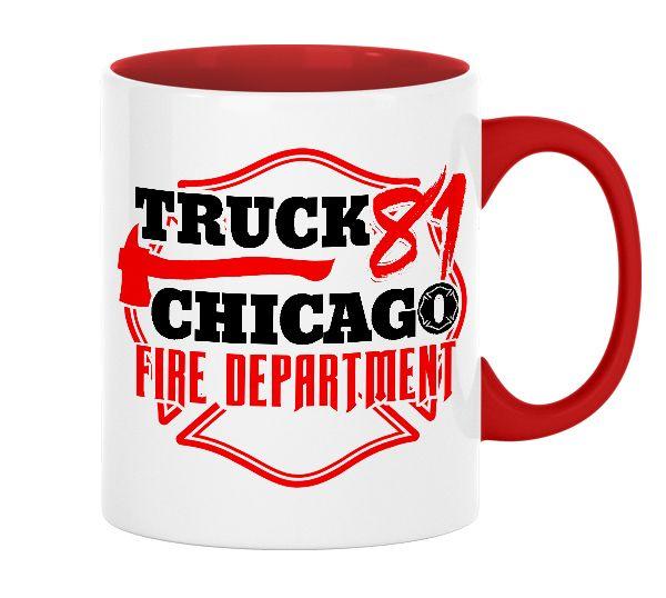 Chicago Fire Dept. - Truck 81 - Tasse aus Keramik
