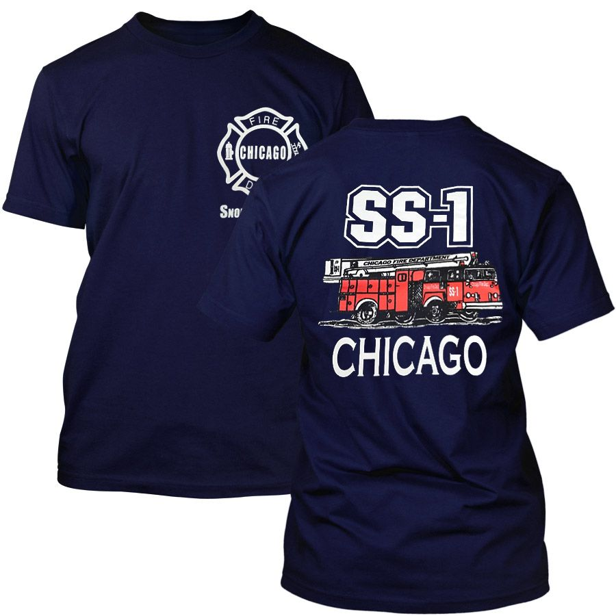 Chicago Fire Dept. - SS-1 Snorkel Squad T-Shirt