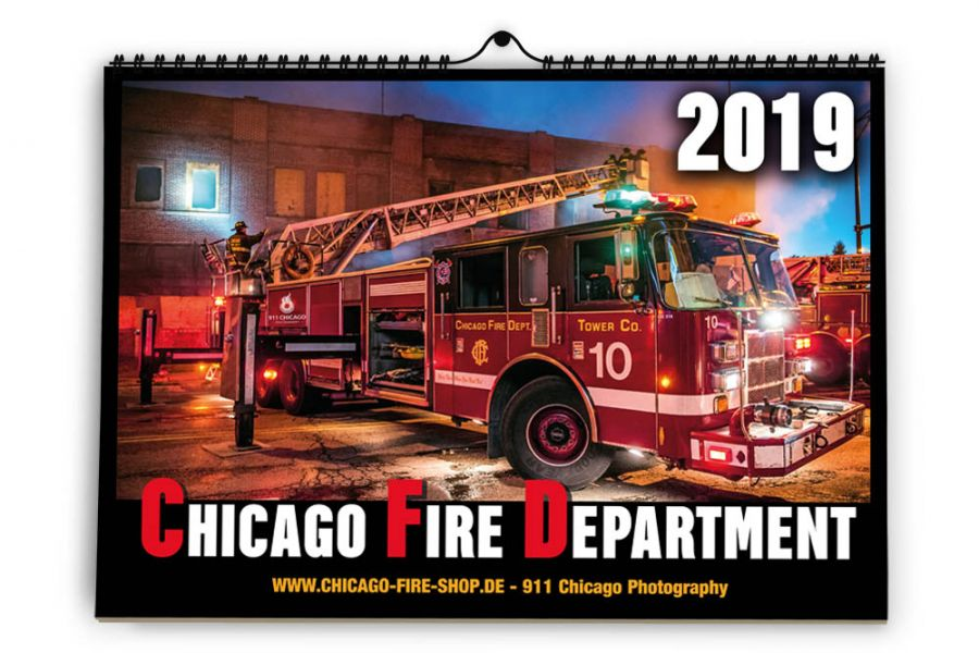 Chicago Fire Department - Kalender 2019