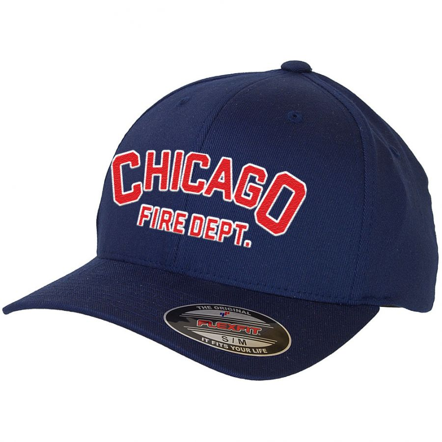 Chicago Fire Department - Basecap (lettering)