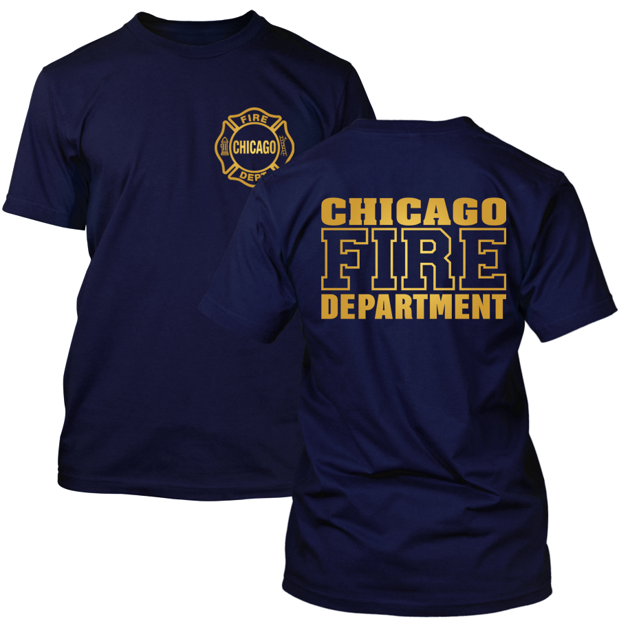 Chicago Fire Dept. - T-Shirt (Gold Edition)