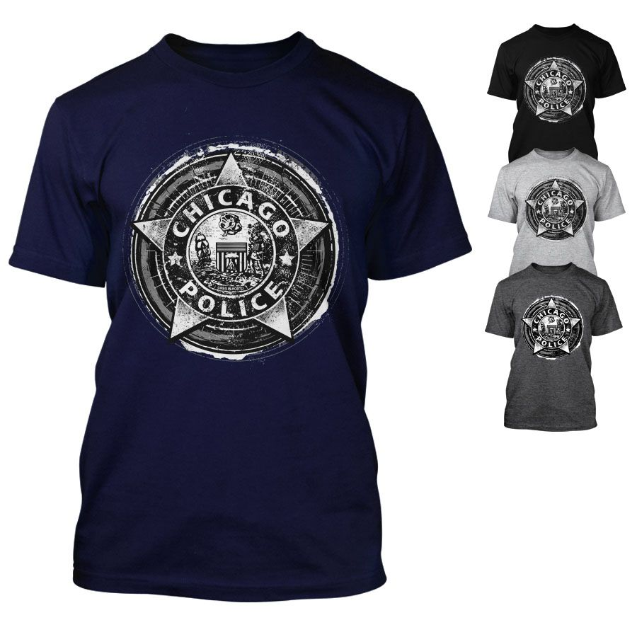 Chicago Police Dept. - T-Shirt in versch. Farben