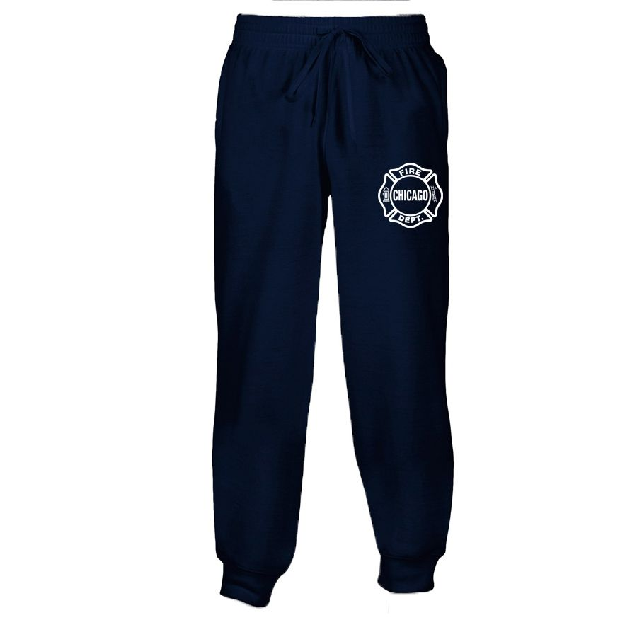 Chicago Fire Dept. - Herren Sweatpants in navyblau