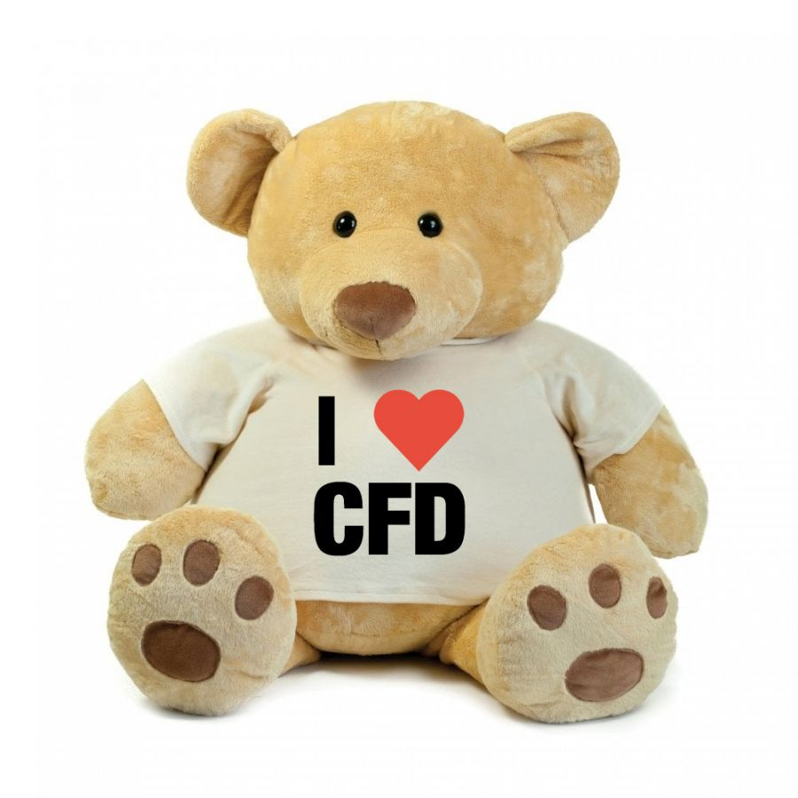 Chicao Fire Dept. - Teddy Bear - Super Size (86cm)