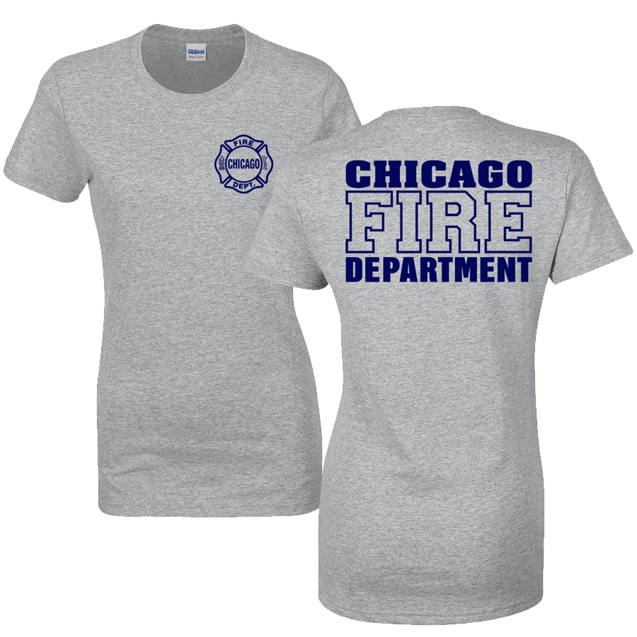 Chicago Fire Dept. - T-Shirt für Frauen in grau
