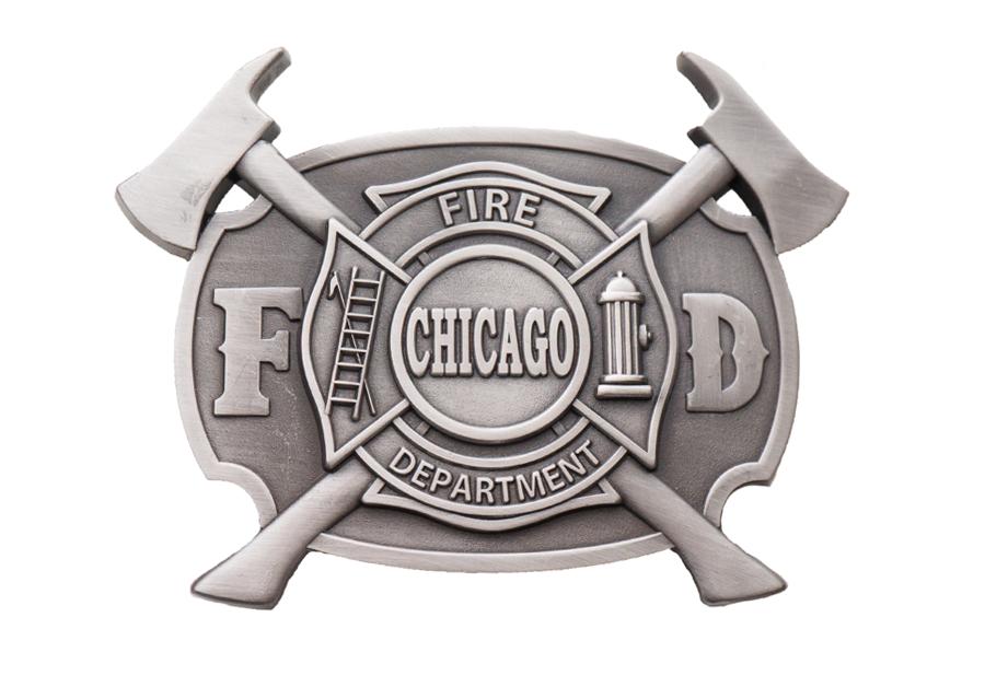 Chicago Fire Dept. - Gürtelschnalle aus Metall