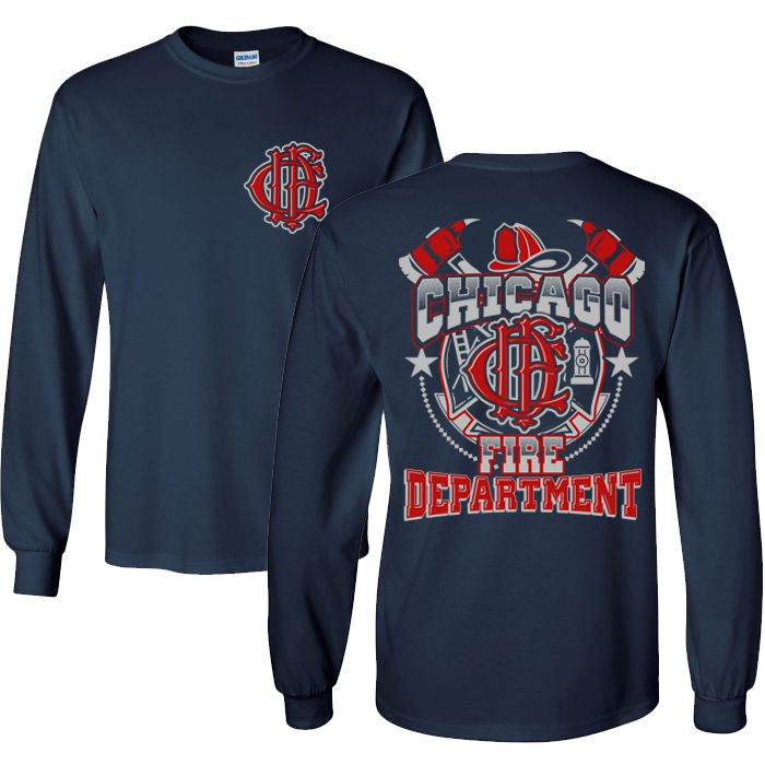 Chicago Fire Dept. - Design Longshirt