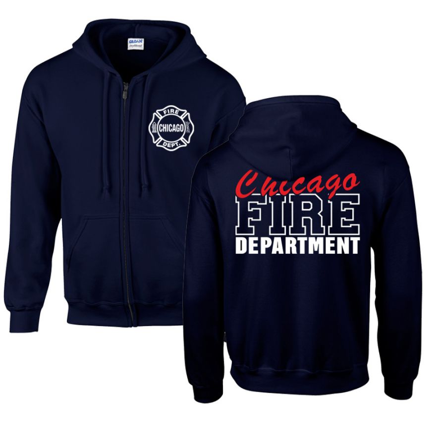 Chicago Fire Dept. - Sweatjacke mit Kapuze (Special Edition)