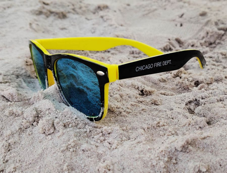 Chicago Fire Department - Sonnenbrille (UV Schutz 400)