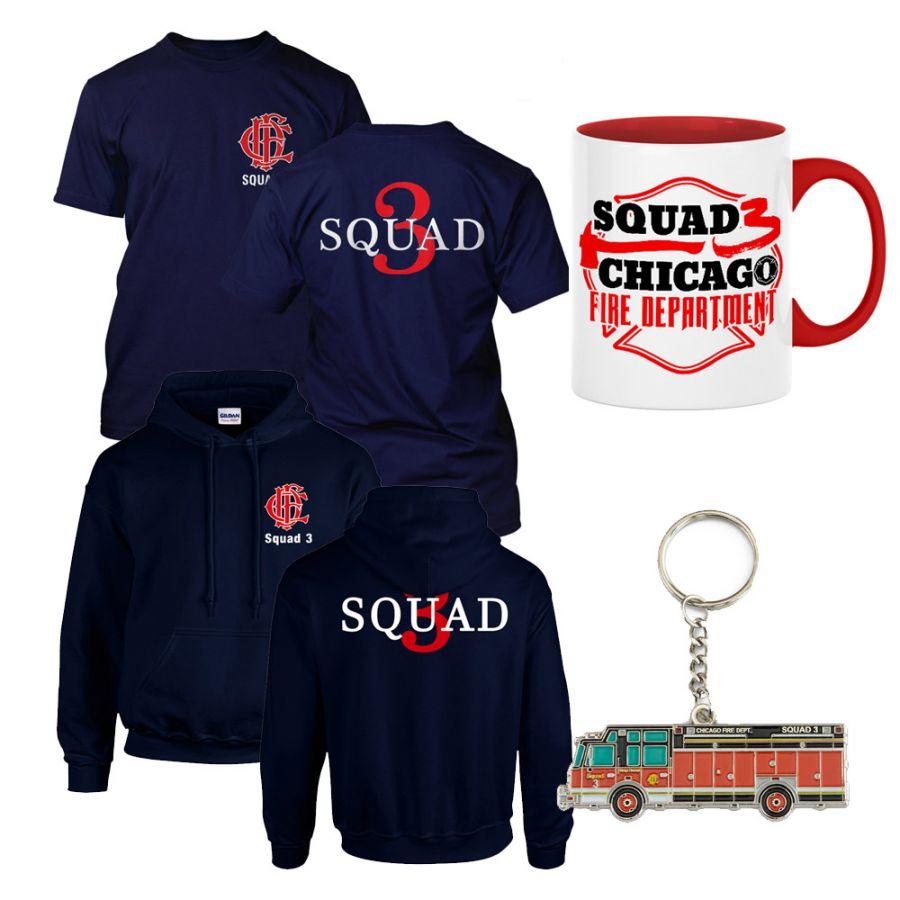 Chicago Fire Dept. - Spar Set (Squad 3)