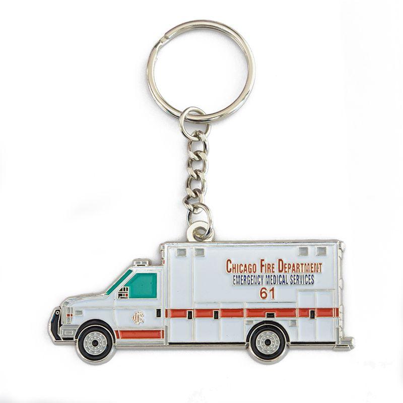 Chicago Fire Dept. - Ambulance 61 - Schlüsselanhänger