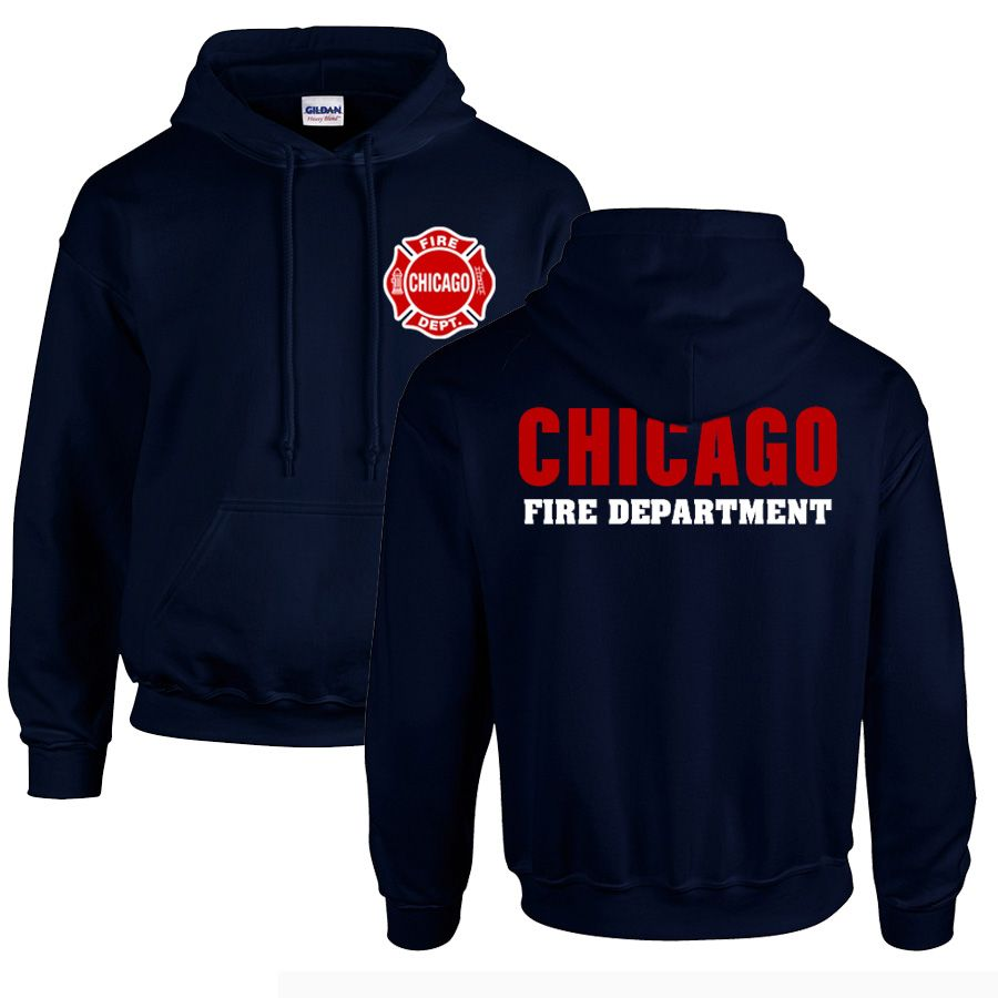 Chicago Fire Dept. - Hooded sweater