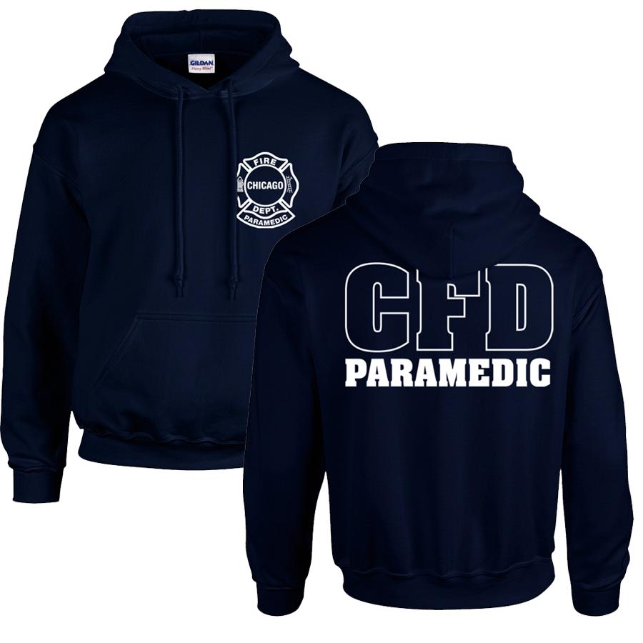 Chicago Fire Dept. Paramedic - Pullover mit Kapuze