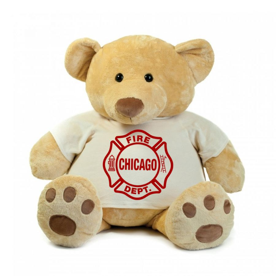 Chicao Fire Dept. - Teddybär - Super Size (86cm)