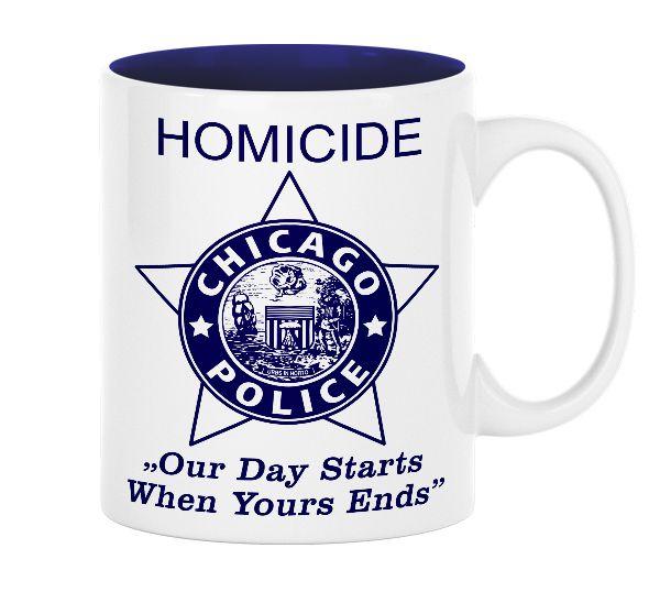 Chicago Police Dept. - Tasse (330ml)