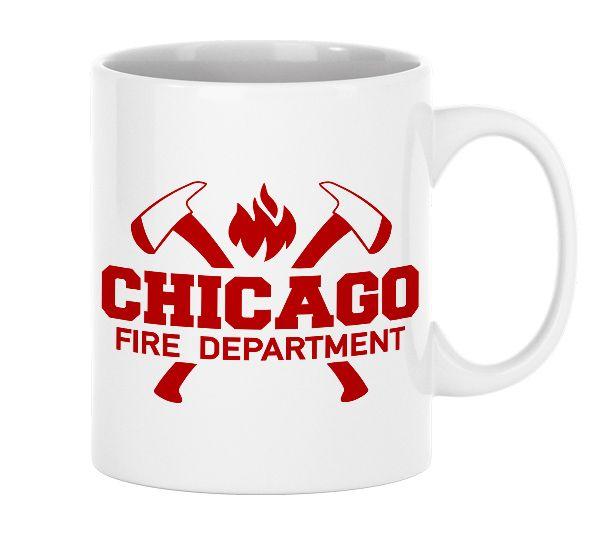Chicago Fire Dept. - Tasse aus Keramik (330ml)