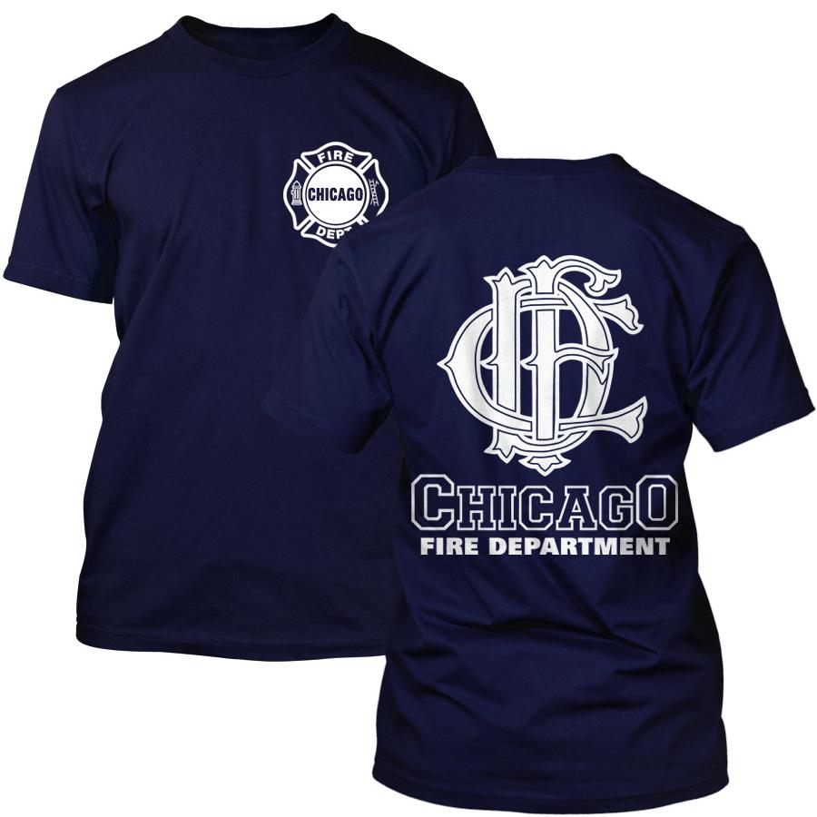 Chicago Fire Dept. - T-Shirt mit CFD Logo