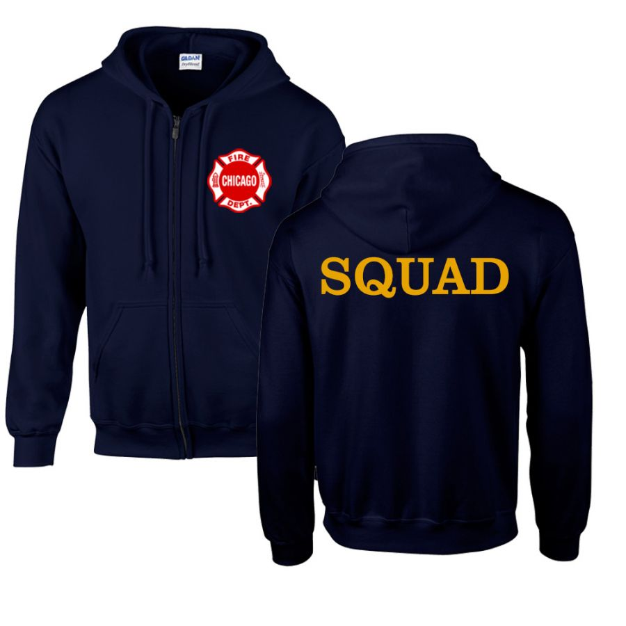 Chicago Fire Dept. - Squad Sweatjacke