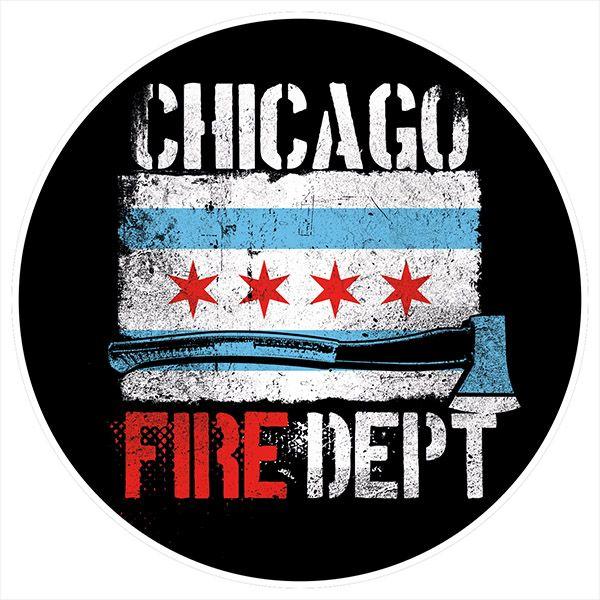 Chicago Fire Dept. - Bierdeckel (5er Set)