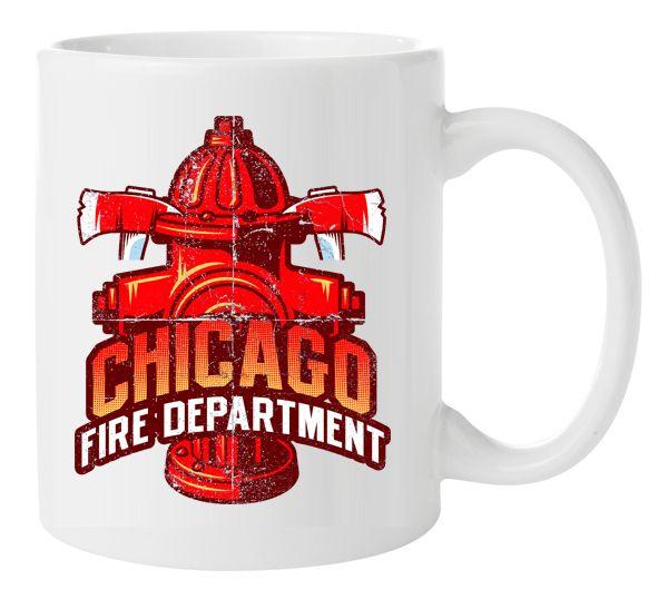 Chicago Fire Dept. - Tasse aus Keramik (Hydrant)