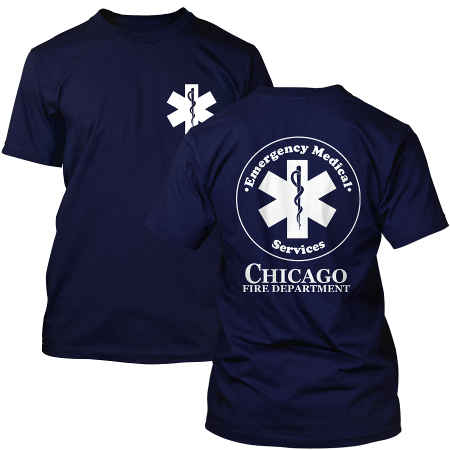 Chicago Fire Dept. - Emergency Medical T-Shirt