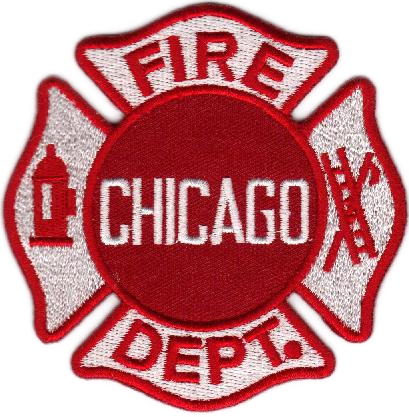 Chicago Fire Dep. Patch - Aufnäher